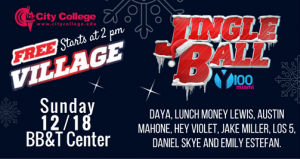 Jingle Ball Village FREE Concert
