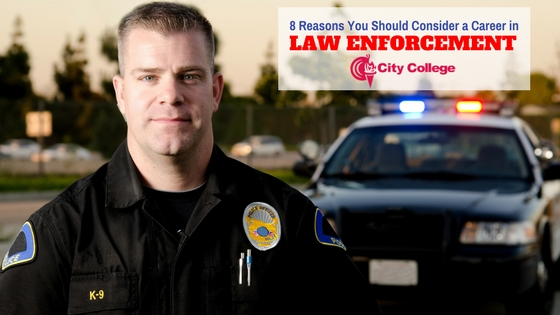 8 Reasons You Should Consider a Career in Law Enforcement