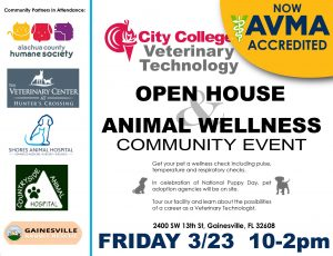 GVL Vet Tech Open House