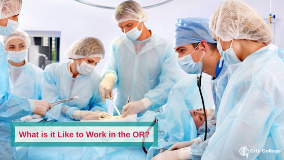 What is it Like to Work in the OR?