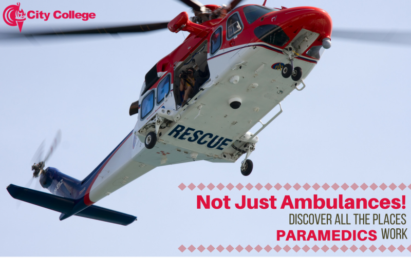 Not Just Ambulances – Discover All the Places Paramedics Work
