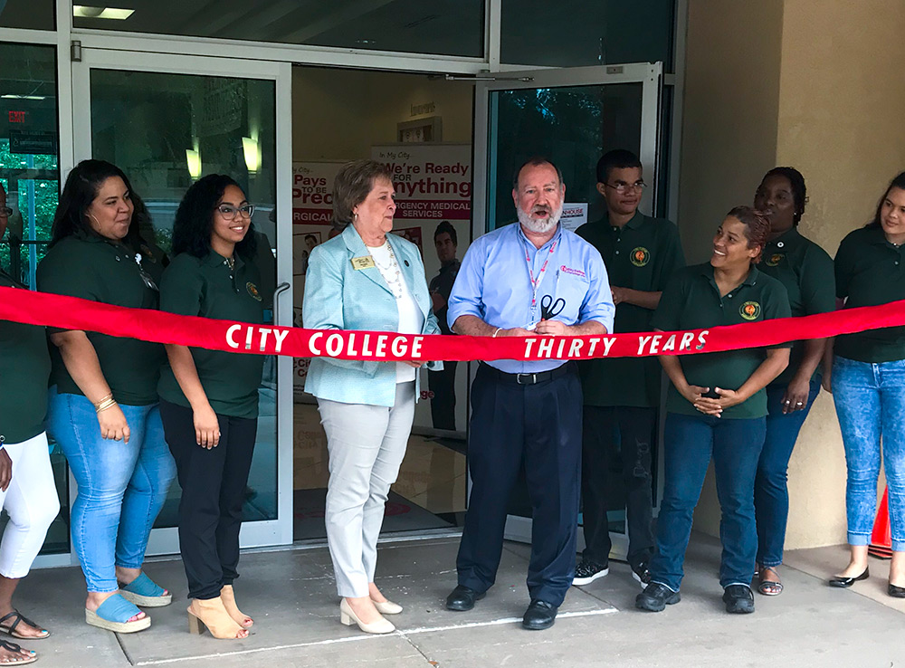city-college-30-years-ribbon-cutting