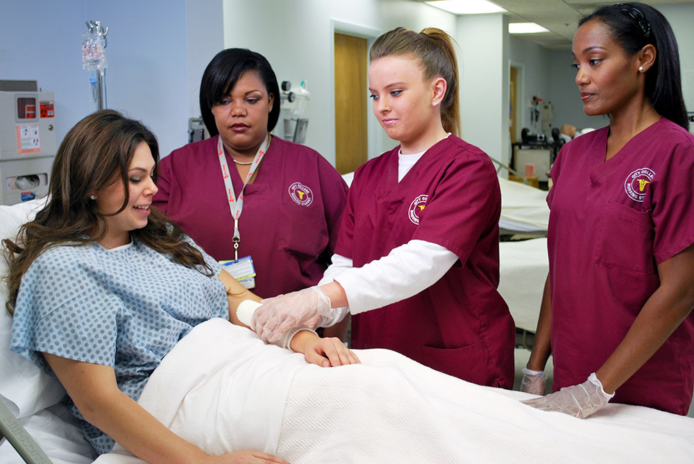 city-college-nursing-students-live-model
