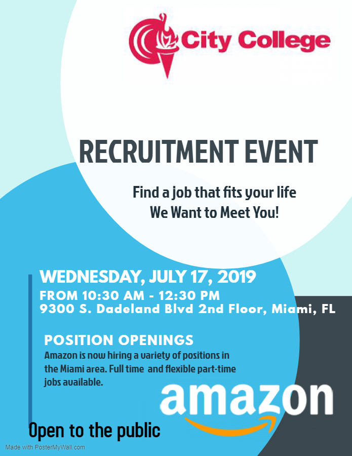 Recruitment Event with Amazon