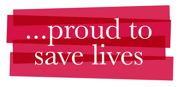 Proud to save lives